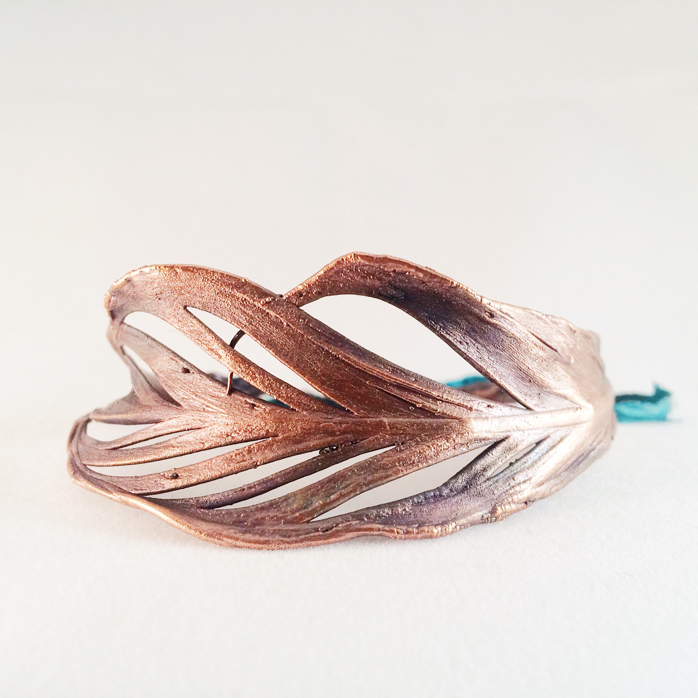 Copper_Gorgeouselectroformedfeather