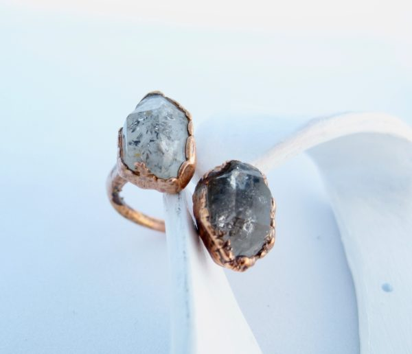 CopperGorgeous-herkimer-ring