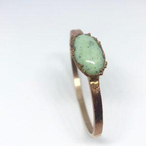 CopperGorgeous-armband-kiwi-jaspis