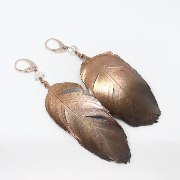 CopperGorgeous-oorbellen-veer